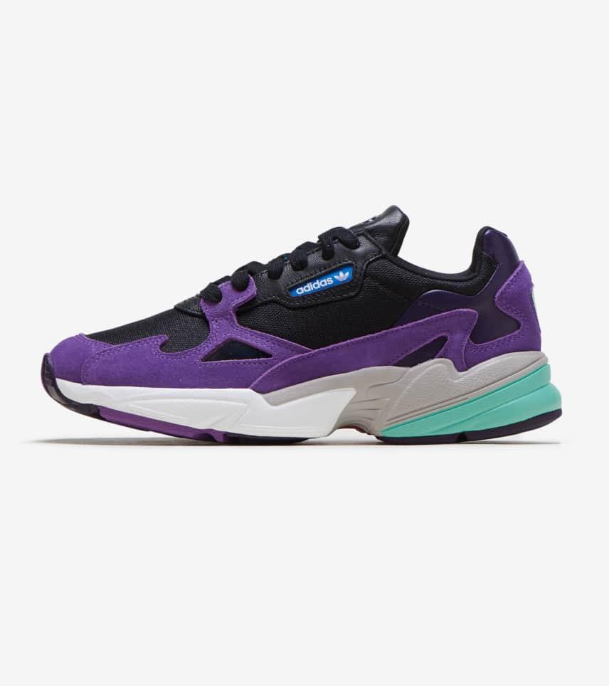 5003d8aa75a5 adidas Falcon Shoes (Purple) - CG6216