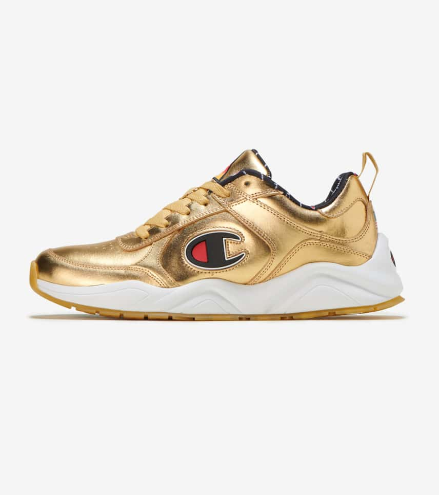 63e96e1fd Champion 93 Eighteen Metallic Sneaker (Gold) - CM100108M