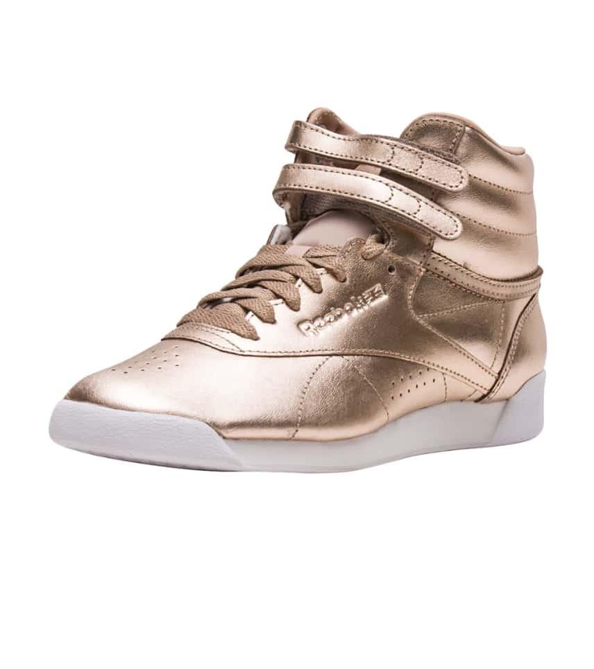 340e46b942c002 Reebok Freestyle Hi Metallic (Gold) - CN0573
