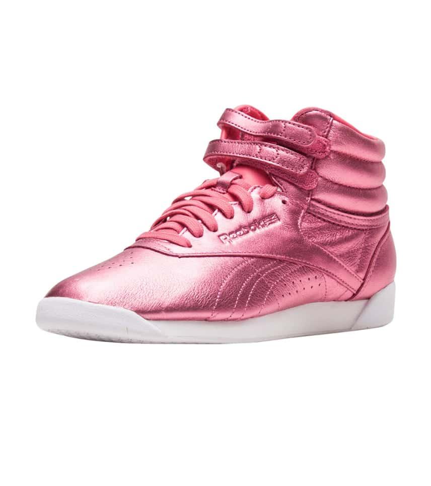 f4d0c8663cdc Reebok Freestyle Hi Metallic (Pink) - CN0960