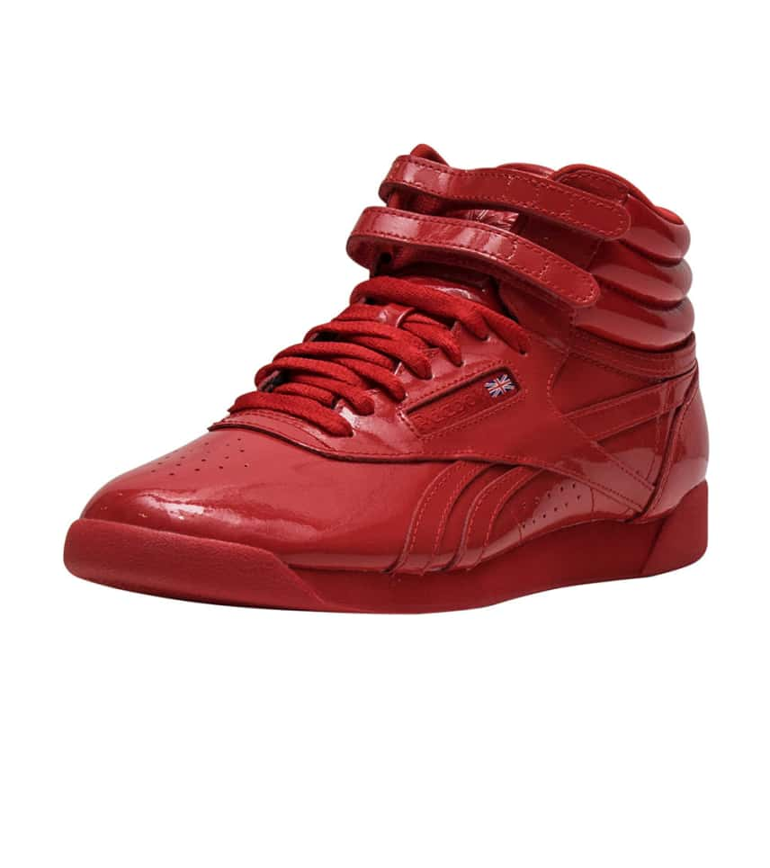 54930496cb903 ... Reebok - Sneakers - FREESTYLE HI PATENT ...