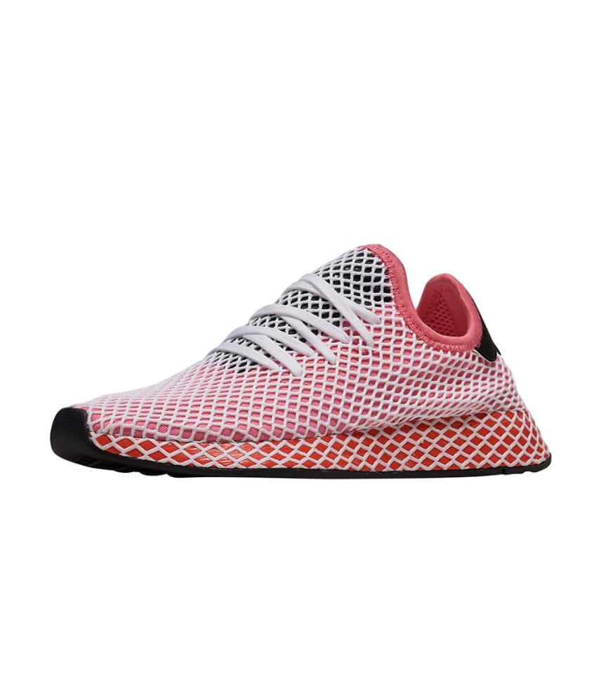 low priced ce106 5dfce adidas WOMENS Deerupt Runner Pink. adidas - Sneakers - Deerupt Runner adidas  - Sneakers - Deerupt Runner ...