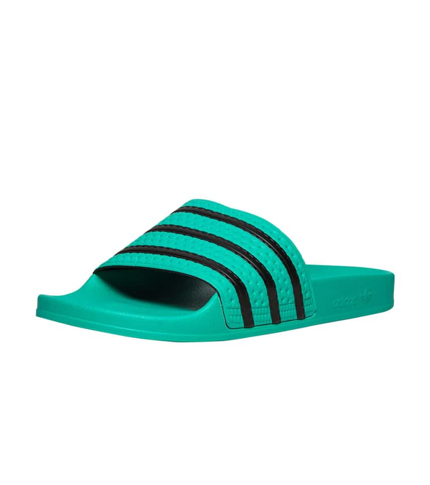 12263fdee4ae21 adidas Adilette (Medium Green) - CQ3100