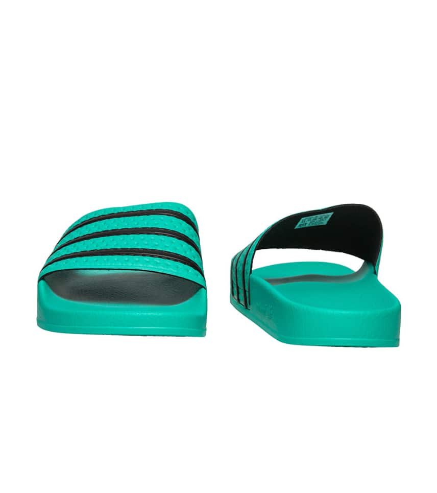 e8d8b1228484 adidas Adilette (Medium Green) - CQ3100