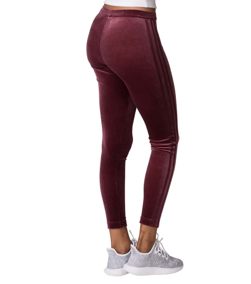 f62903b8c81 adidas Velvet Track Leggings (Burgundy) - CW0276-610 | Jimmy Jazz