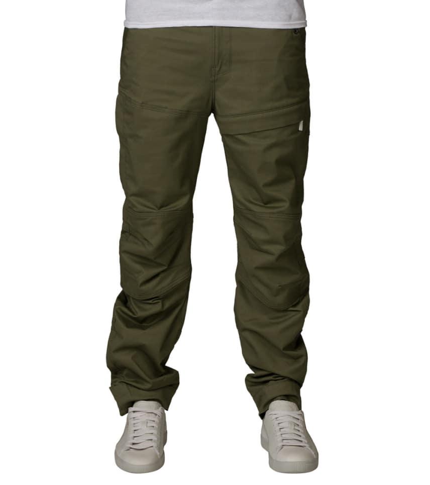 Smuk G-Star PREMIUM RACKAM CARGO PANT (Dark Green) - D0396051267 QI-53