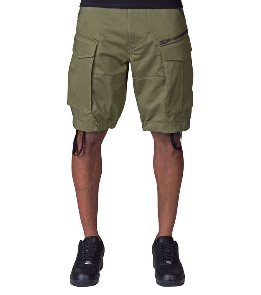 Rask G-Star Rovic Loose MCRO Shorts (Dark Green) - D0856651267 | Jimmy Jazz VL-06
