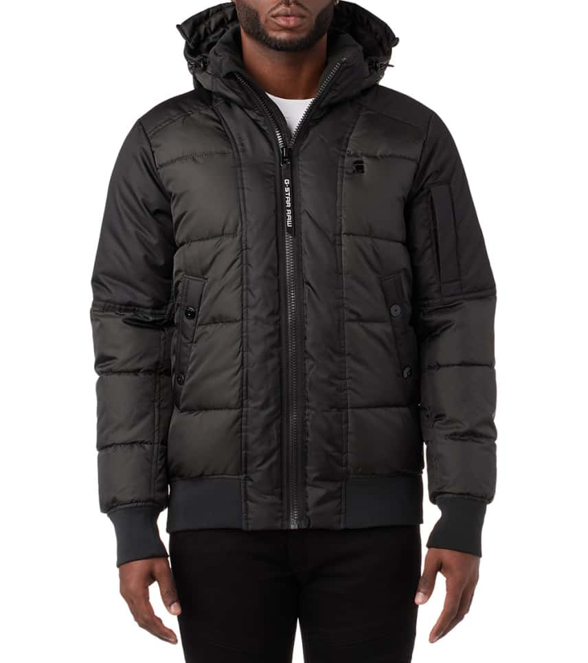 ef7b2a9cc41 G-Star WHISTLER QUILTED HDD BOMBER (Black) - D09781A67497 | Jimmy Jazz
