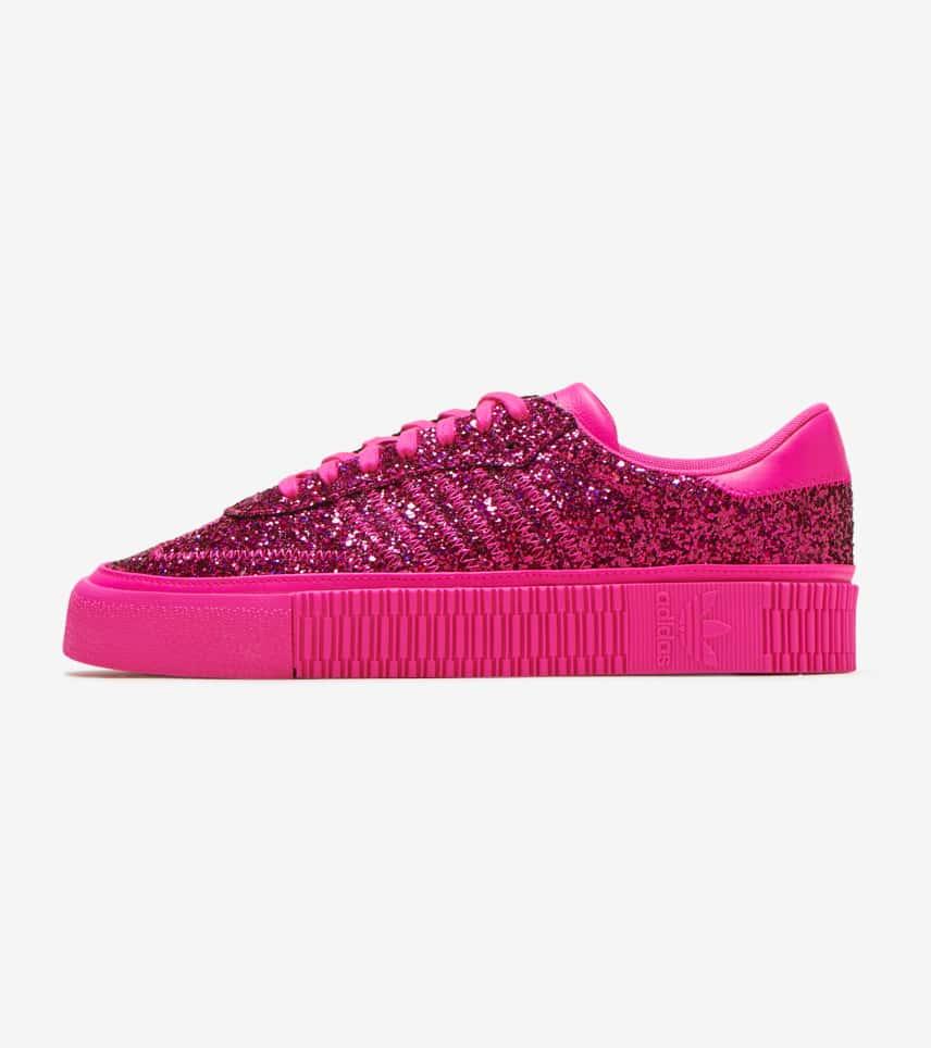 adidas samba rose glitter