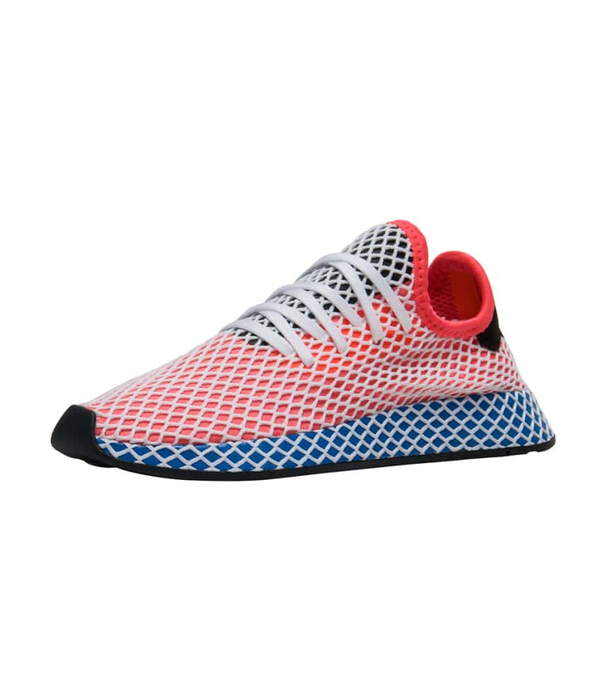4439111be adidas DEERUPT RUNNER (Red) - DA9610
