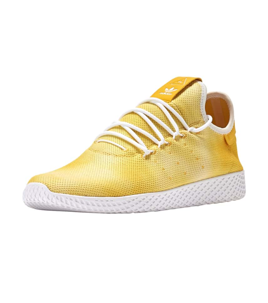 pharrell williams adidas tennis hu yellow