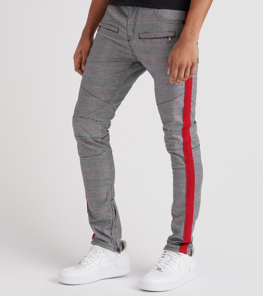 3aec42e5 Plaid Side Stripe Pant