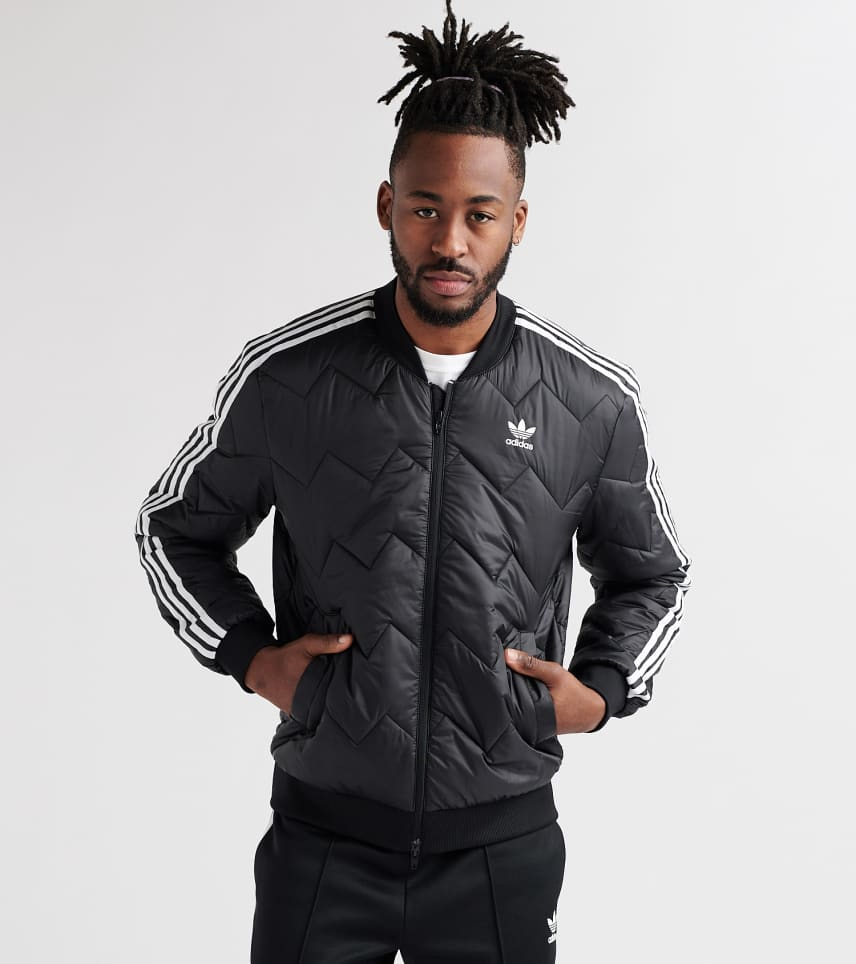 44cbb092e3 adidas SST Quilted Jacket (Black) - DH5008-001 | Jimmy Jazz