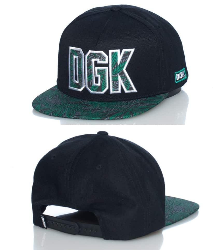 ee9af26d77c DGK HOME GROWN SNAPBACK CAP (Black) - DH555