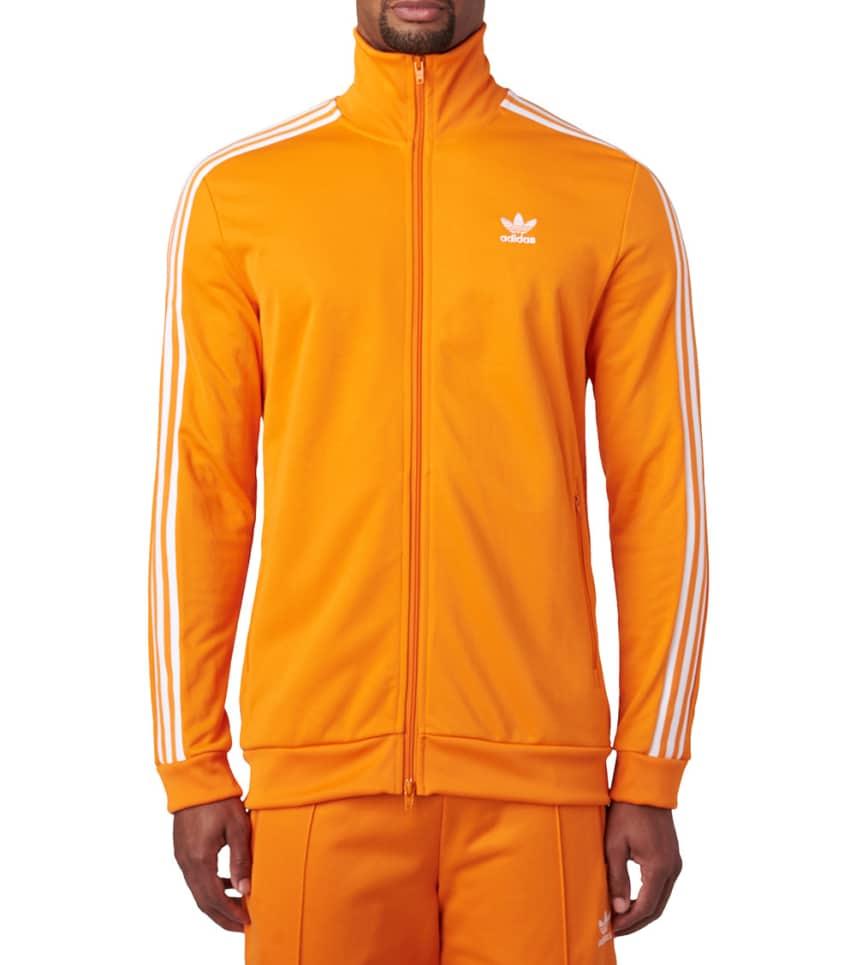 d3aebc484857 adidas BECKENBAUER TRACK JACKET (Orange) - DH5821-800