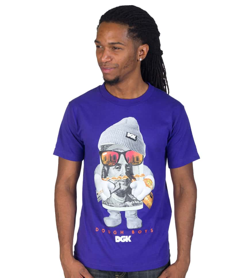 Dgk Dough Boys Tee Purple Dt1099 Jimmy Jazz
