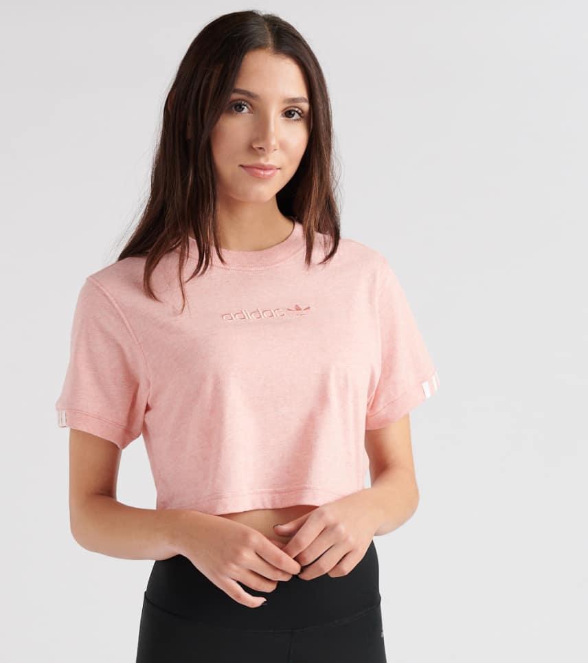 02d6830d adidas Coeeze Cropped Tee (Medium Pink) - DU2351-684 | Jimmy Jazz