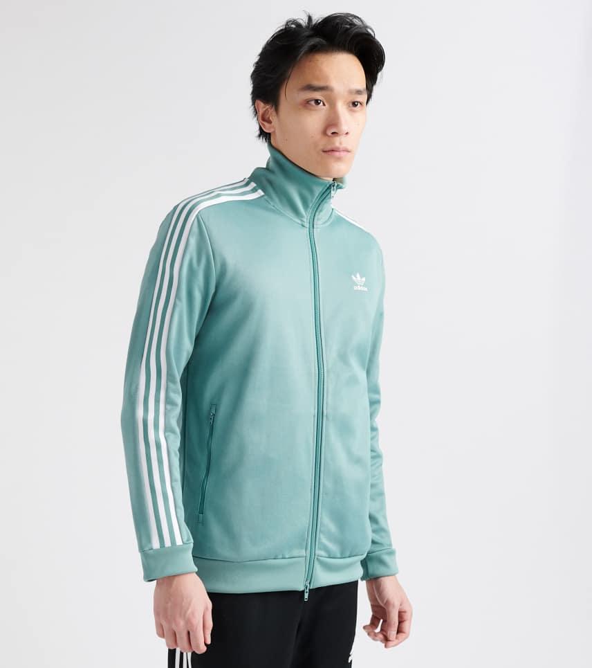 6c6b570a2762 adidas Beckenbauer Track Jacket (Medium Green) - DV1523-459