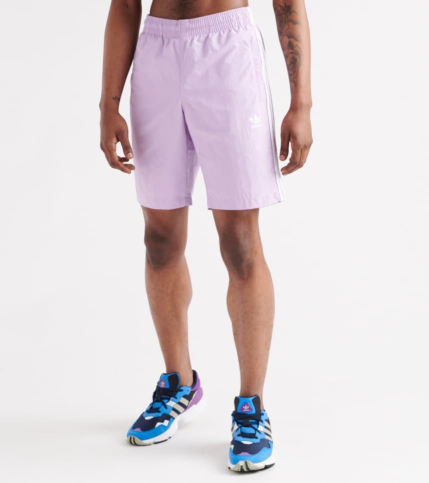 894033e3fefb adidas 3-Stripes Swim Shorts. $29.95orig $40.00. COLOR: Purple Glow