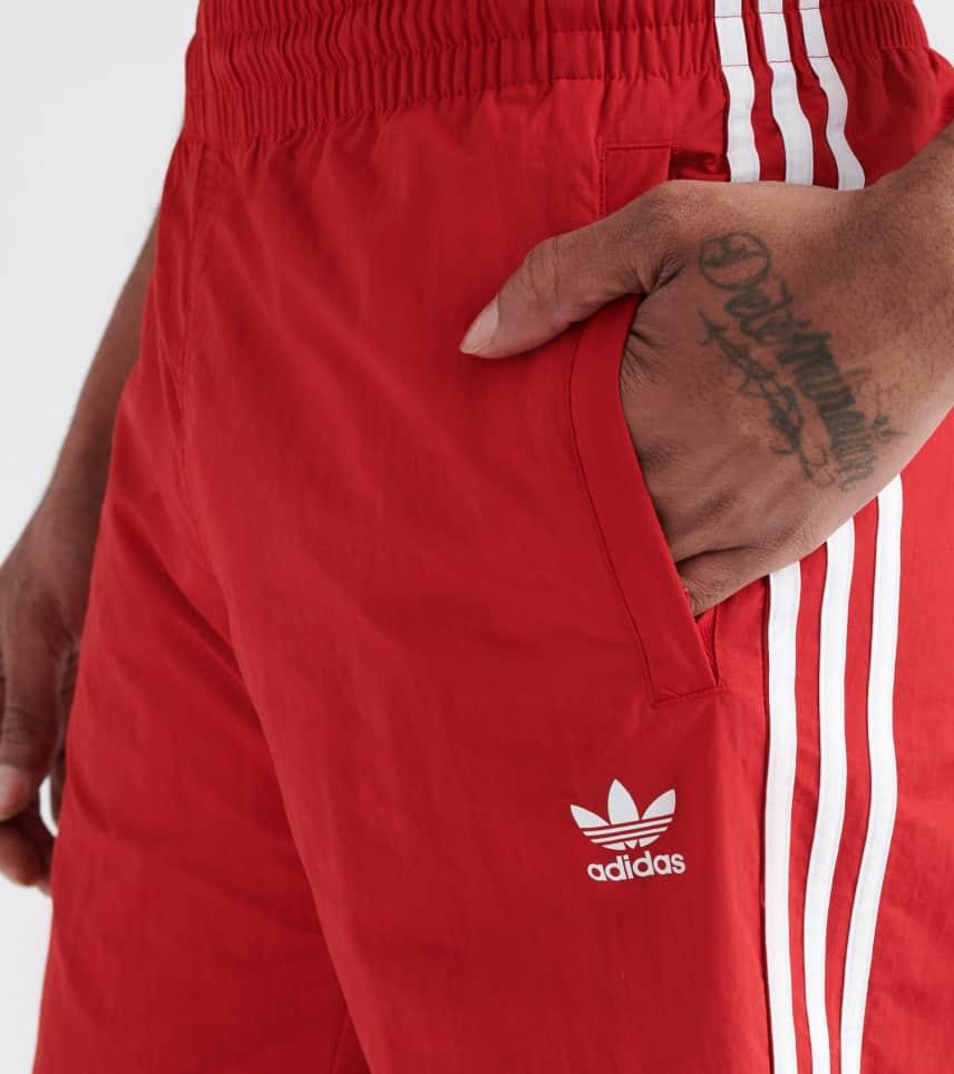 9020400e04093 adidas 3-Stripes Swim Shorts (Red) - DV1585-600 | Jimmy Jazz