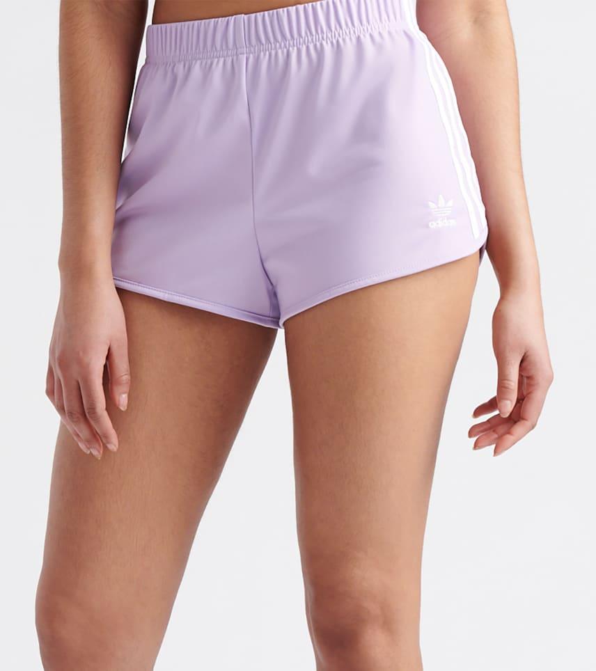 07911ecab009 adidas 3-Stripes Short. $9.95orig $30.00. COLOR: Purple Glow