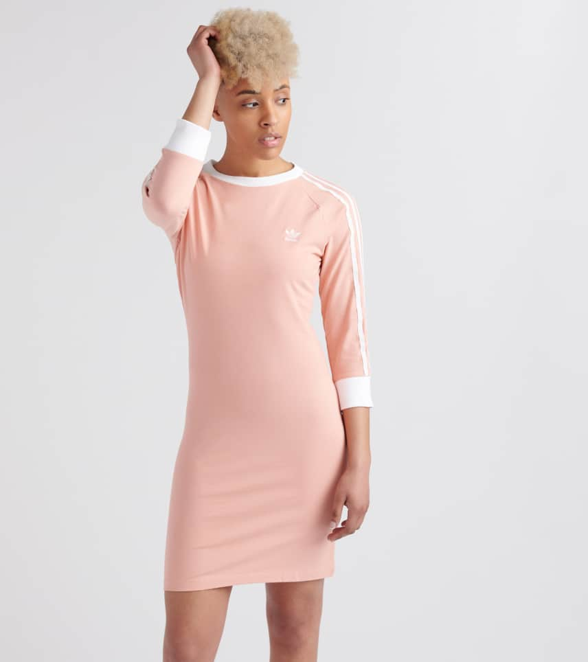 0945424b60 adidas 3 Stripes Dress (Pink) - DV2565-650