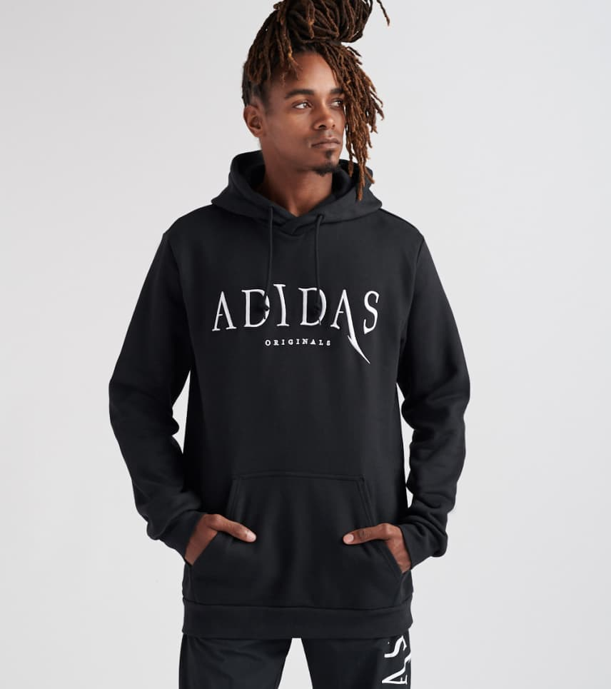adidas Universe Pullover Hoodie (Black) - DX6011-001  819d2f25192