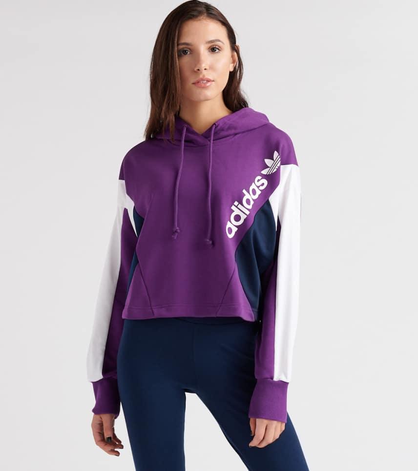 ... adidas - Sweatshirts - 90 s Cropped Hoodie ... cad4f02158