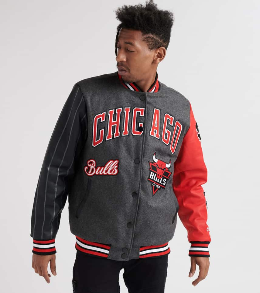89da8f17c Chicago Bulls Shook Up Varsity Jacket