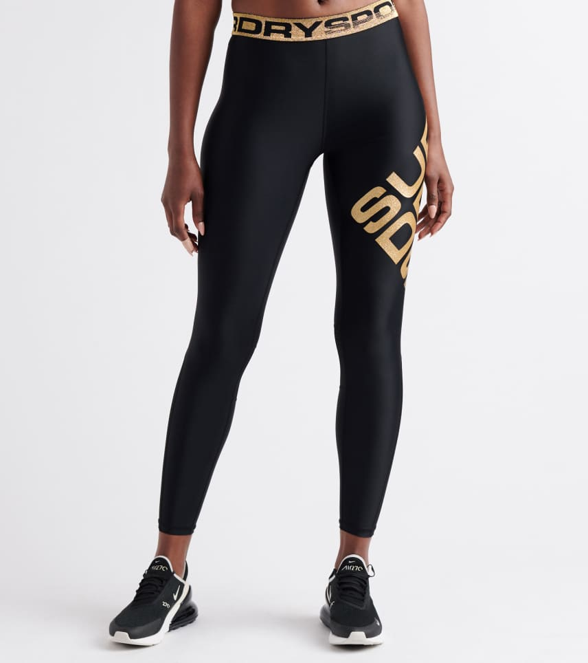 e97ea881d47dc8 Superdry Bolt Sport Leggings (Black) - GS3209AT-18A | Jimmy Jazz