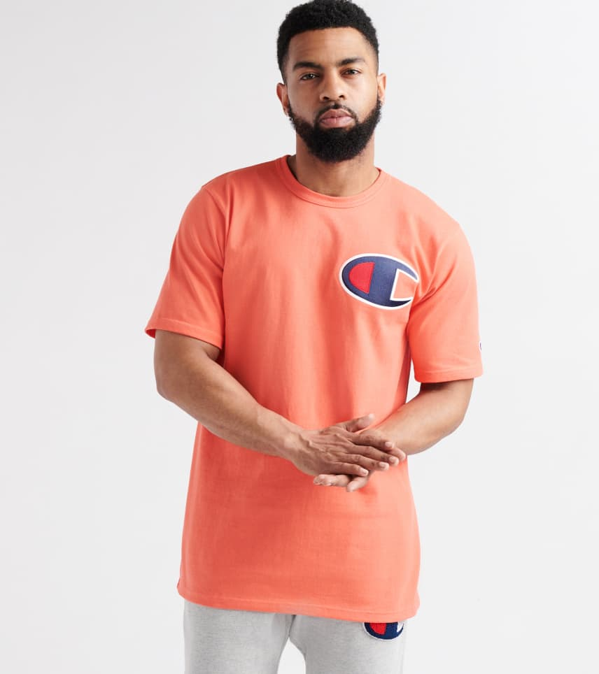 f0d0b9249 Champion Heritage Tee (Orange) - GT19Y06-DOH | Jimmy Jazz