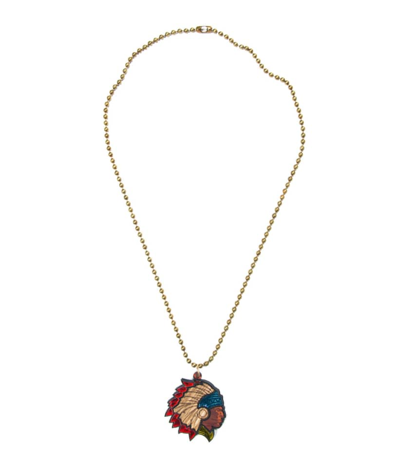 19ebd7dfc2bd76 Good Wood NYC CHIEF DELUXE NECKLACE (Multi-color) - GWN0193