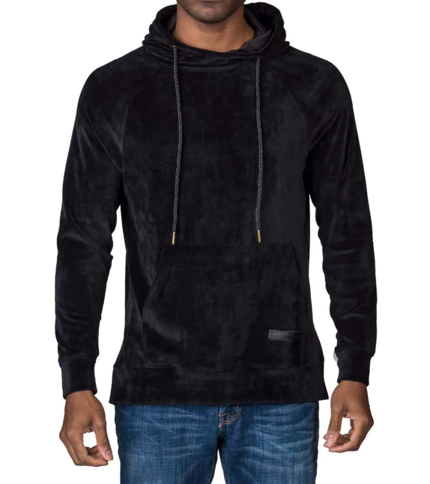 lowest price 2f435 e1d02 HUDSON OUTERWEAR VELOUR PULLOVER HOODIE