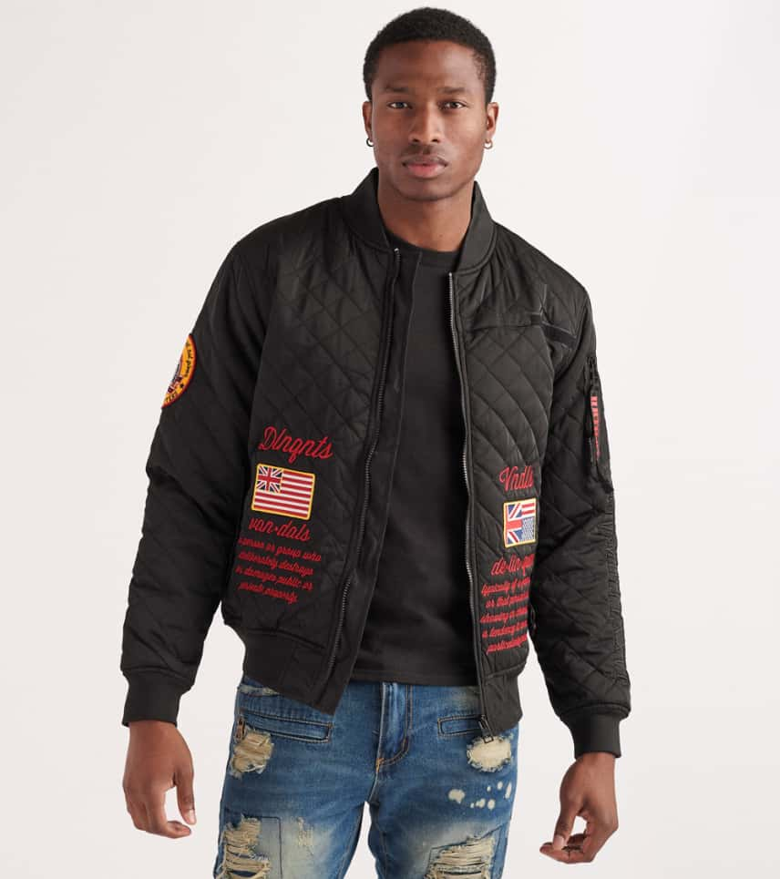 1d50743a2 Quilted Bomber Jacket
