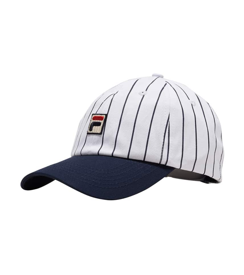 cd0bf2abc38f2c FILA Pinstripe Cap (White) - HT03418-WHT | Jimmy Jazz