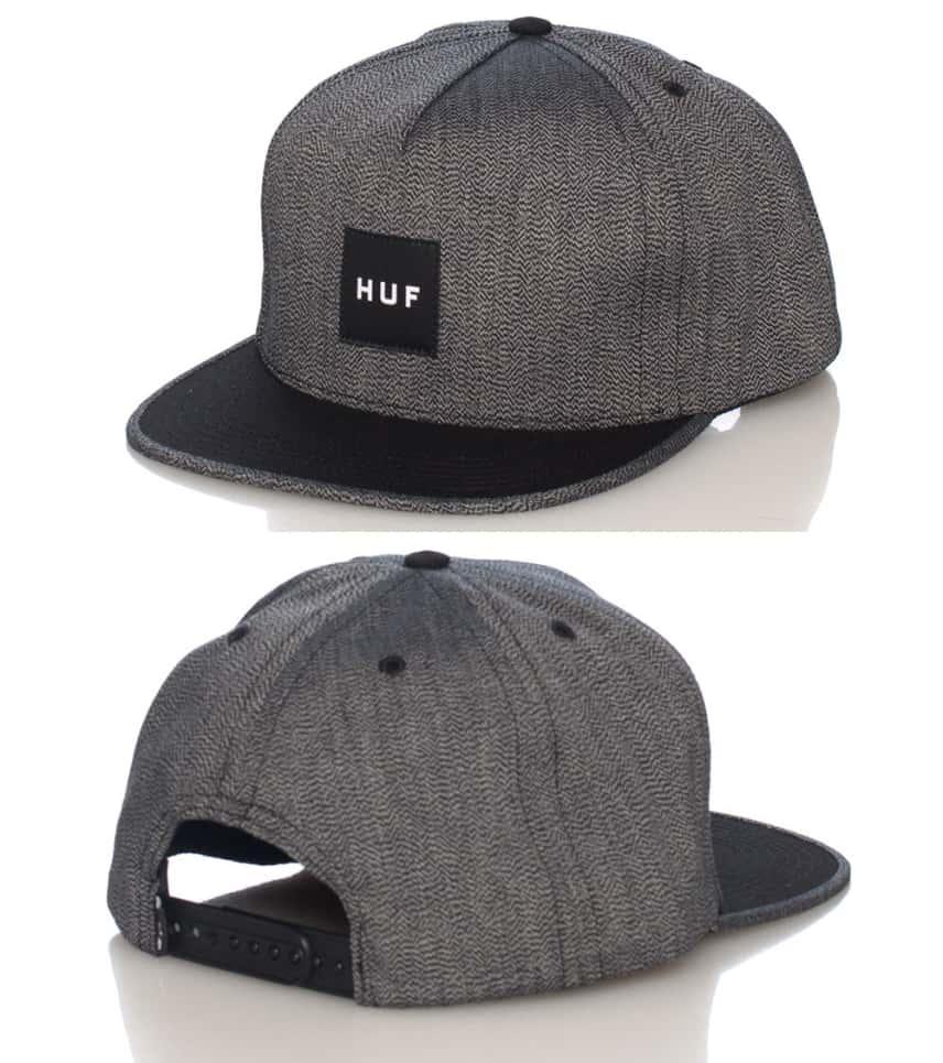 HUF JAPANESE SPECKLE SNAPBACK CAP (Grey) - HT43003  caf11c26536c