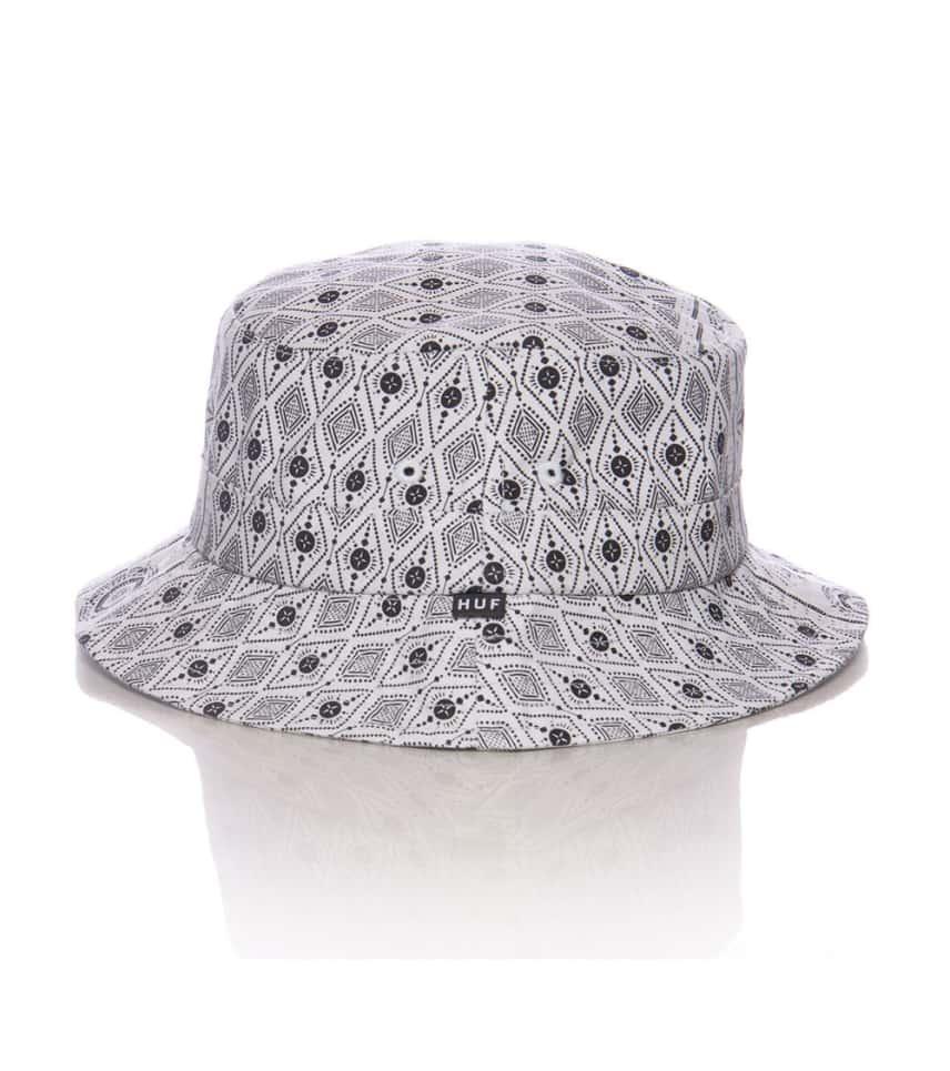 HUF Bandana Bucket Hat (White) - HT51052  16bc6bc4b1a0