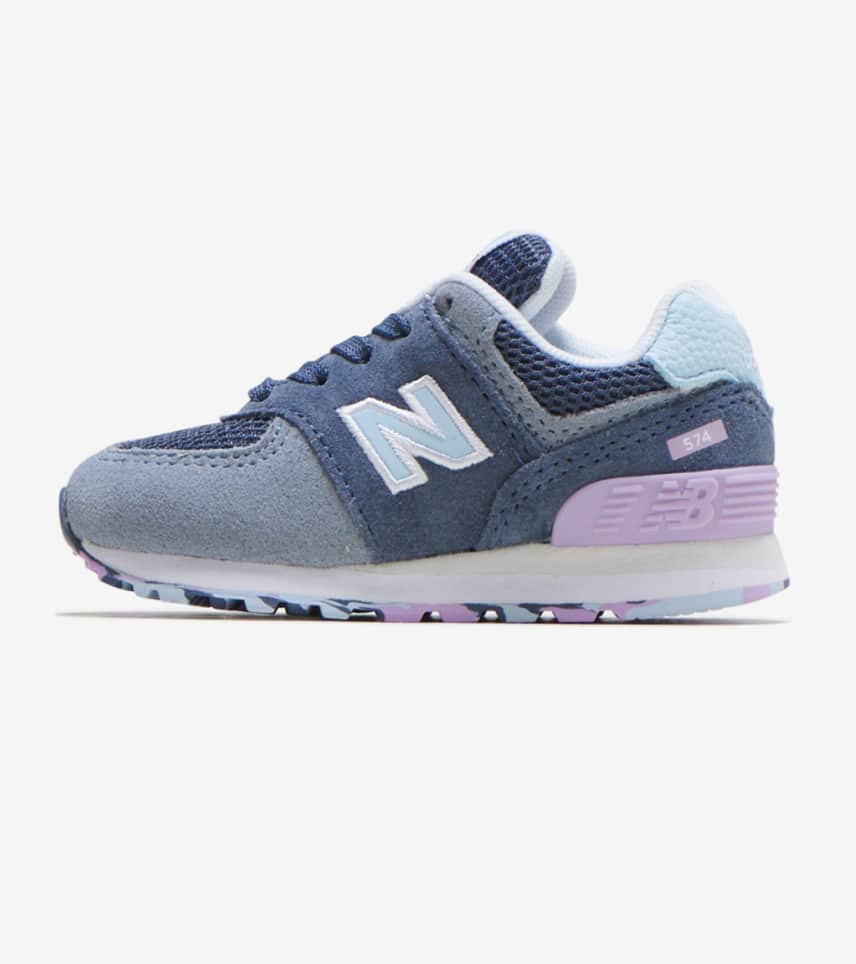 New Balance 574 Running Shoe (InfantToddler),Grey GS,10 M