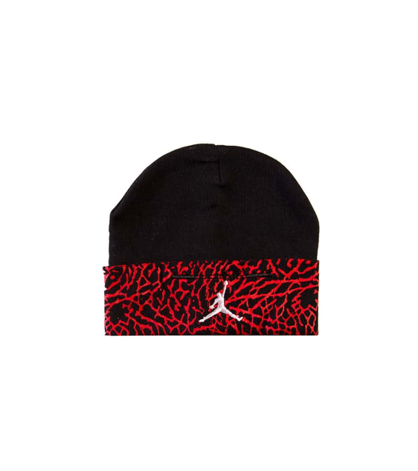 12fbe871acb773 Jordan INFANT HAT AND BOOTIE COMBO (Black) - IJD4402