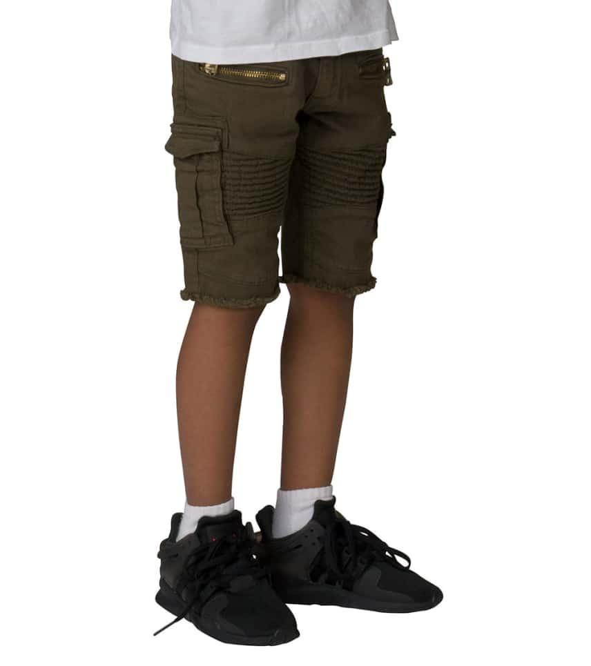 6a077eee7e Jordan Craig Kids Boys 2-7 Moto Cargo Shorts (Dark Green) - J673SK ...