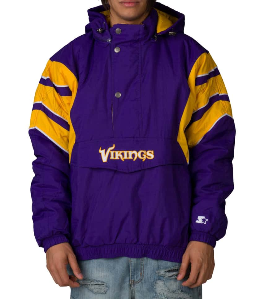 wholesale dealer 9cd0e d978d NFL MINNESOTA VIKINGS PULLOVER JACKET