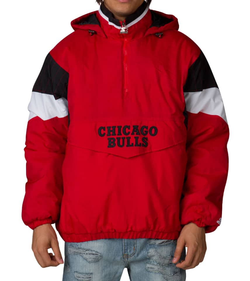 be6dbc32c Starter NBA CHICAGO BULLS PULLOVER JACKET (Red) - LA530087CGB ...