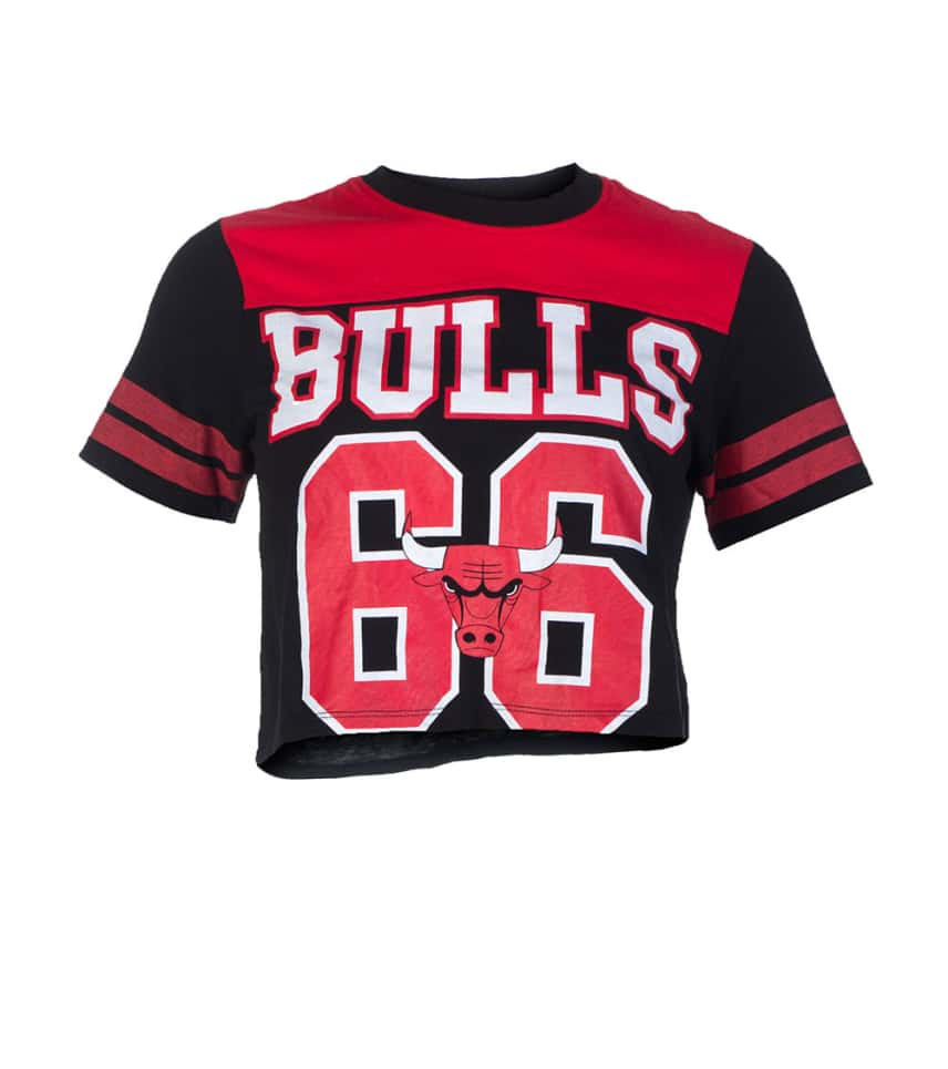 wholesale dealer 2b8ec 29d9c CROPPED BULLS FOOTBALL JERSEY TOP