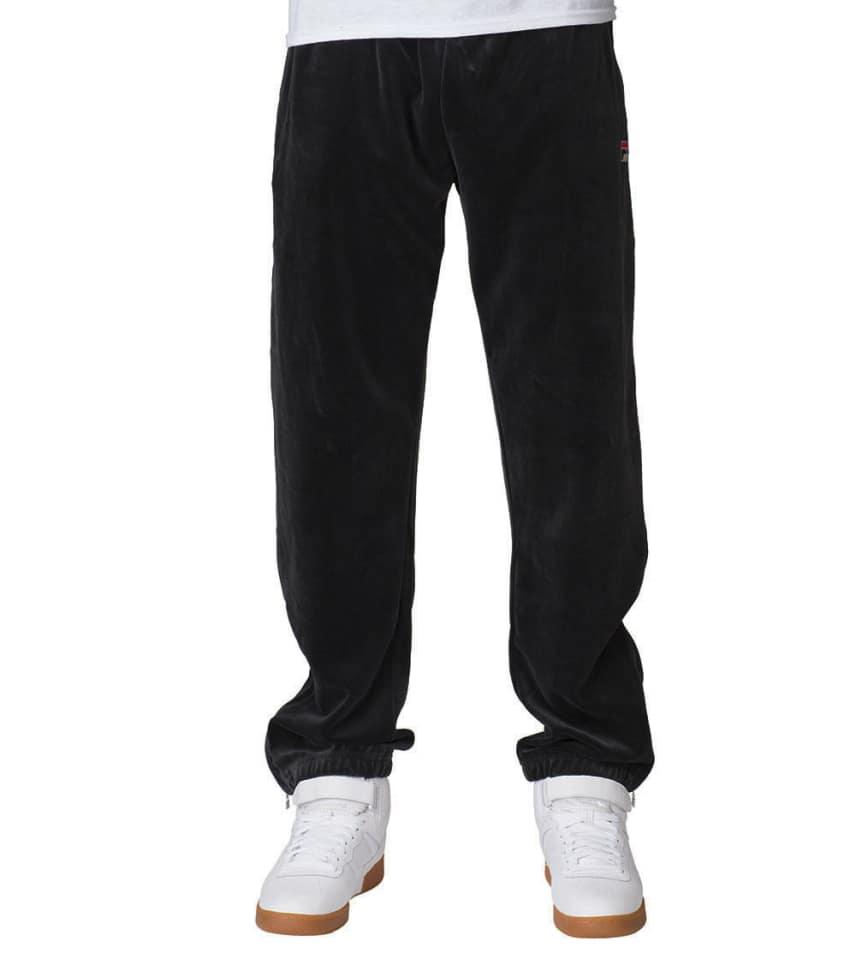 2a86941c61c FILA Velour Pants (Black) - LM163TN8 | Jimmy Jazz