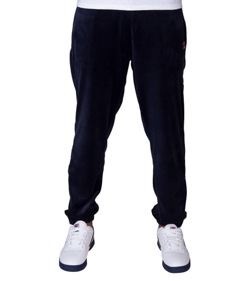 4d422a54827 Fila Dalton Velour Pants (Navy) - LM181W46 | Jimmy Jazz