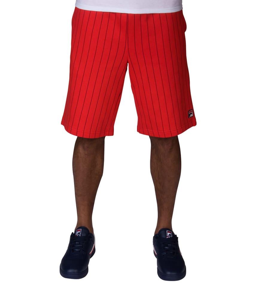 134d91bb85b3 FILA BB1 Stripe Shorts (Red) - LM181X74-640