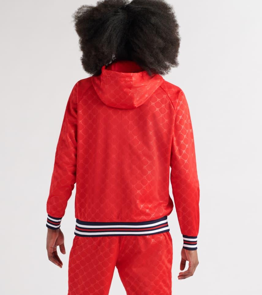8074fce73989 FILA Royce Fleece Hoodie (Red) - LM911262-640 | Jimmy Jazz