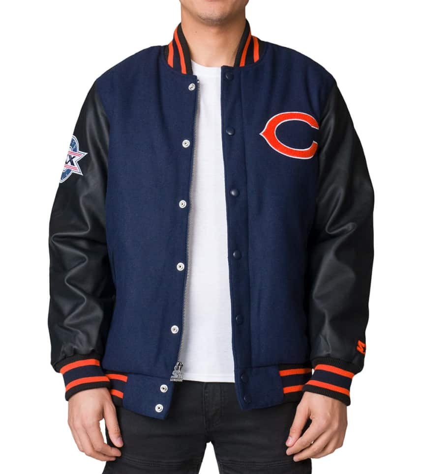 separation shoes 732e4 23fe1 Chicago Bears Championship Wool Jacket