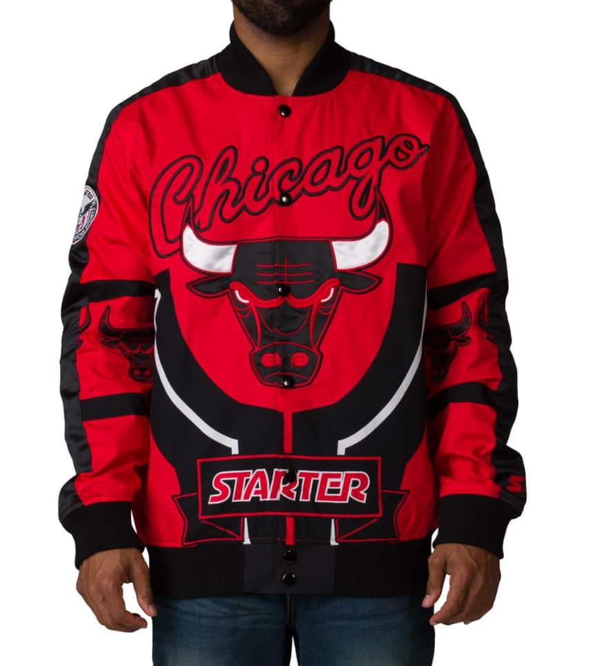 f9819f38033 Starter Chicago Bulls Pride Jacket (Red) - LS740409