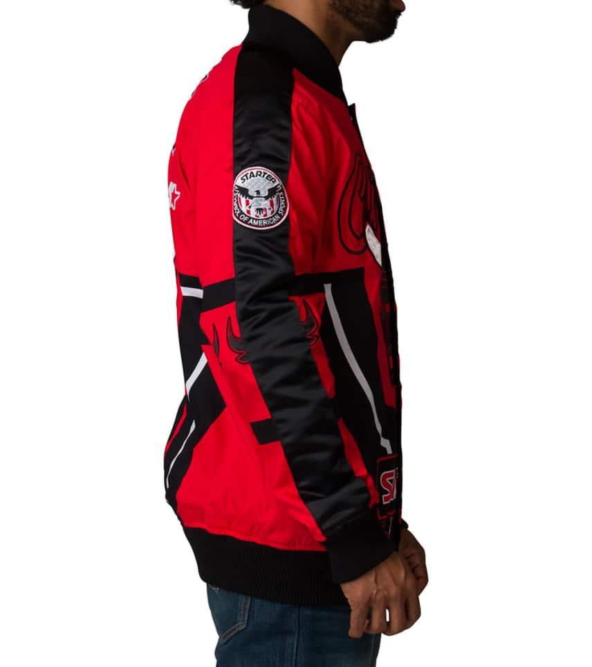 c7ca8c85388 ... Starter - Outerwear - Chicago Bulls Pride Jacket ...